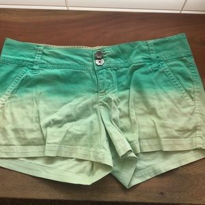 BKE ombré shorts